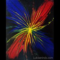 Lukisan Abstrak Ssi-124