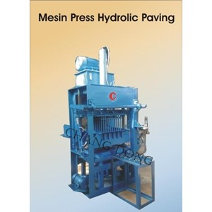 Mesin Cetak Bata Press Hydrolic Multi Block