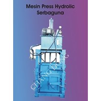 Mesin Press Hydrolic Kardus 1