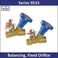 VIR - Series 9515 - Balancing Fixed Orifice 1