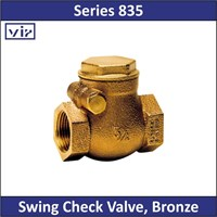 VIR - Series 835 - Swing Check Valve Bronze 1