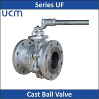 UCM - Series UF - Cast Ball Valve 1