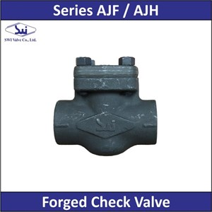 SWI - Series AJF AJH Forged Check Valve