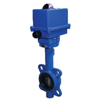 Electric Butterfly Valve Series BFW100-KZE