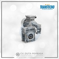 Transtecno Double Worm Gear Motors Type CMM Series -  Duta Perkasa