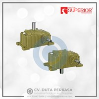 Superior Transmission Worm Gear Box WPO & WPX Series - Duta Perkasa