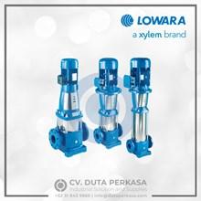 Lowara Stainless Steel Vertical Multistage Pump Type SV Series Duta Perkasa