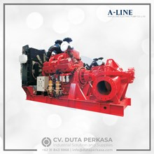 A-Line Horizontal Split Case Fire Pump Set - NFPA20 Type XBC Series Duta Perkasa