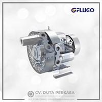 Flugo Side Channel Blower Low Flow High Pressure 4 FB Series Duta Perkasa