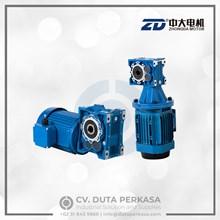 Zhongda Hypoid Gear Motor Type HPM Series Duta Perkasa