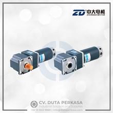 Zhongda DC Gear Motor Spiral Bevel Right Angle Type Z6D250 Series
