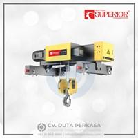 Superior Transmission Double-Rail Wire Rope Hoist Type SHA7 Series Duta Perkasa