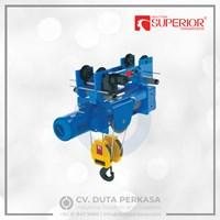 Superior Transmission Mono-Rail Wire Rope Hoist Type SHA6 Series Duta Perkasa