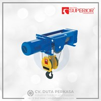 Superior Wire Rope Hoist SHA-6 Foot-mounted Hoist Duta Perkasa
