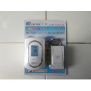 BELL Pintu V-ZORR  Wireless Rumah Tanpa Kabel Door Chime