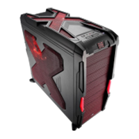 Jual Case Aero Coolaerocool Strike X Black Dan Red 2743