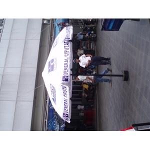 Payung promo bahan pipa besi