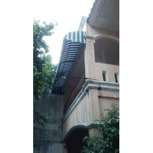 Pagar Canopi tangga