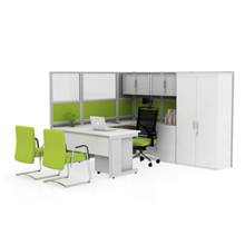 Meja cubical Work X Model 3