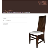 Sell FULL STRIPES DINING CHAIR FIX CUSHION