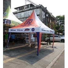 Tenda Kerucut 3 x 3 Digital Printing
