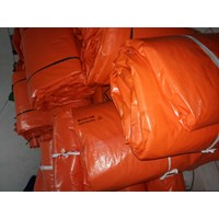 Terpal Plastik Warna Orange