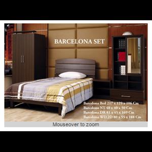 Export Barcelona Bedroom Set Indonesia