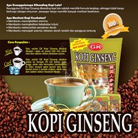 GK Ginseng Coffee