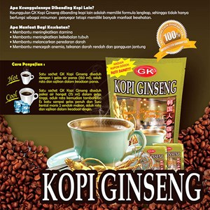 GK Ginseng Coffee
