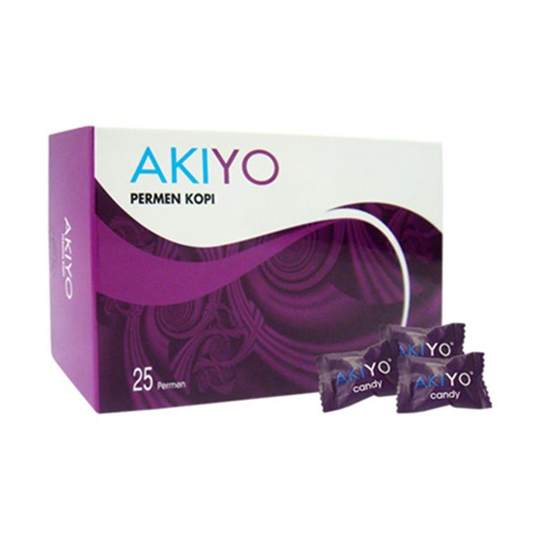 Permen Kopi Akiyo Isi 25 Pcs (Box)