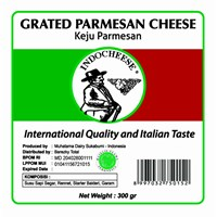 Keju Parmesan Indo cheese Parut Regular 300 Gram