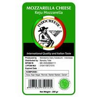 Jual Keju Mozarella Indo Cheese 200 Gram Kualitas Internasional Rasa Italia