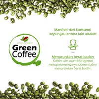 Distributor KOPI HIJAU SIAP MINUM - ROBUSTA COFFEE BEANS NATURAL AND HEALTHY 200 G 3