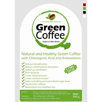 Jual KOPI HIJAU SIAP MINUM - ARABICA COFFEE BEANS NATURAL AND HEALTHY 200
