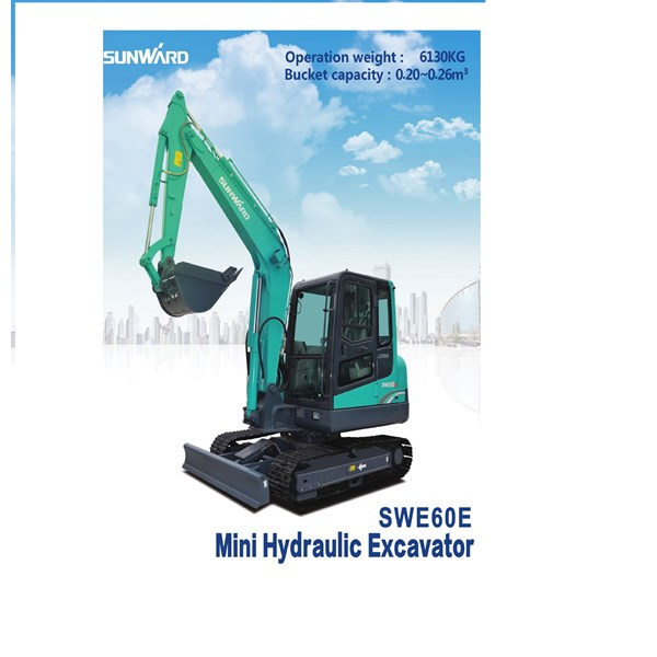 Excavator SWE60E Harga terjangkau