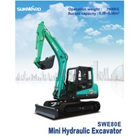 Excavator SWE80E Harga Termurah