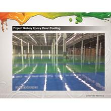 Epoxy Floor Paint at Yamaha Spare Parts Warehouse