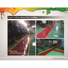 Epoxy Paint Floors at Sun Plaza Genset Room and Chiller