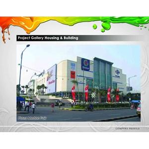 Cat Gedung Plaza Medan Fair