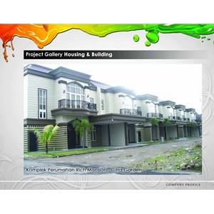 Cat Komplek Perumahan Rich Mansion - Citra Garden By Mega Warna Lestari
