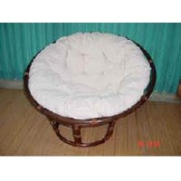 Papasan Chair W Cushion Rottan