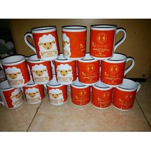 Mug Kaki Souvenir