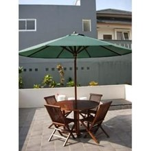 Teak Cafe Umbrellas
