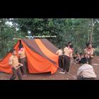 Tenda pramuka Super Praktis - peralatan berkemah 4