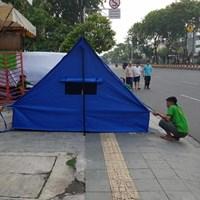 Jual Tenda pramuka Super Praktis - peralatan berkemah