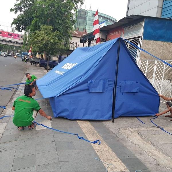 Tenda pramuka Super Praktis - peralatan berkemah