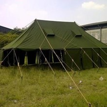 Evacuation Command Post Tent