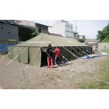 The Platoon Command Post Tent Shelter