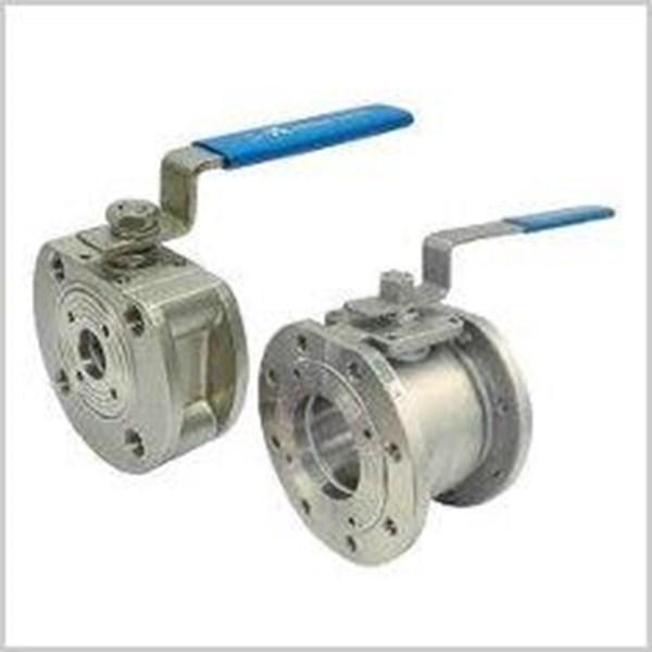 Ball valve flange
