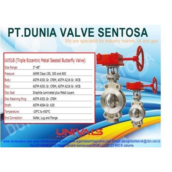VALVE UNIVALS - UV 158